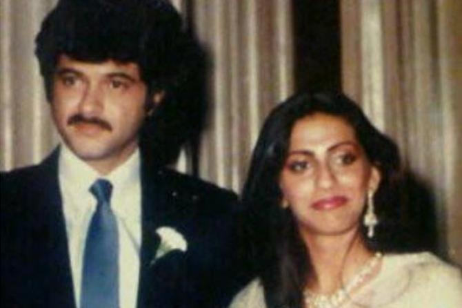 Anil Kapoor And Sunita