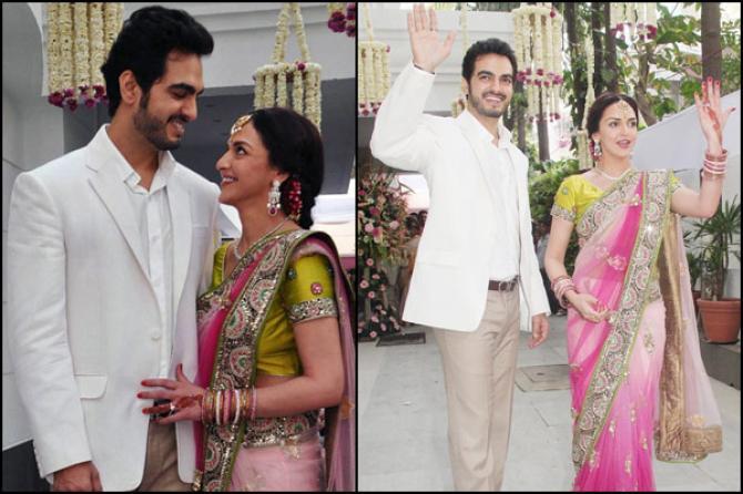 Esha Deol Bharat Takhtani Anniversary Special Not So Ordinary Love Saga