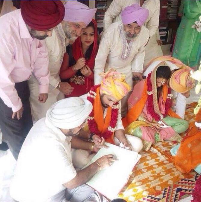 Shahid Kapoor Mira Rajput Gurdwara Wedding