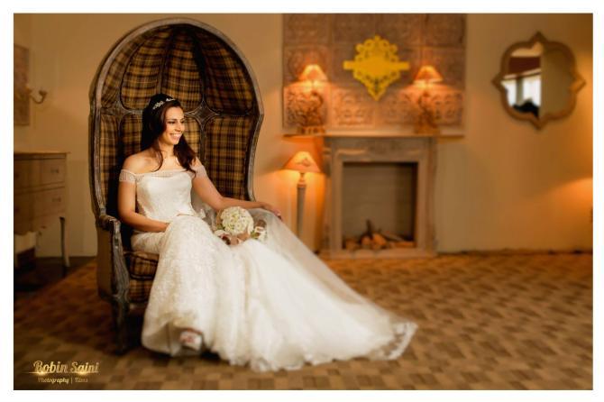 ethnic christain bride look details- BollwyoodShaadis
