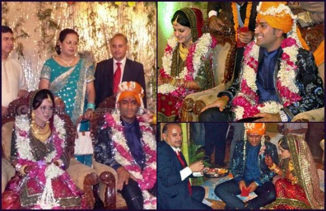 Mahendra Singh Dhoni And Sakshi Rawat's Love And Wedding ...