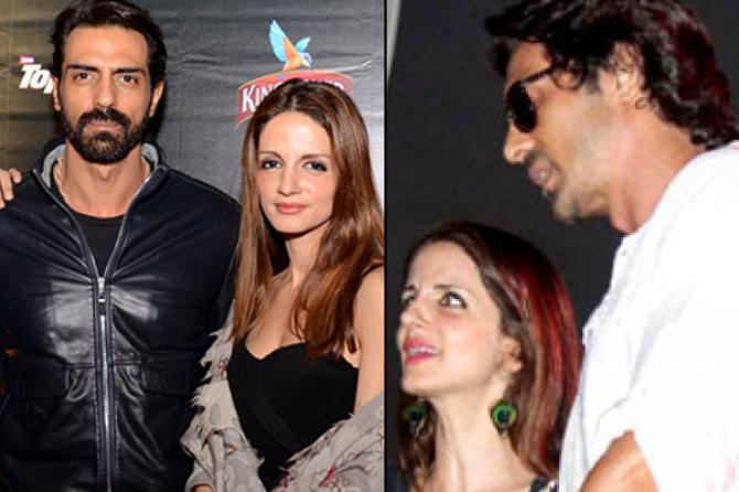 Bollywood Heartthrob Hrithik Roshan     s Ex Wife Sussanne Khan To     sussanne khan and arjun rampal
