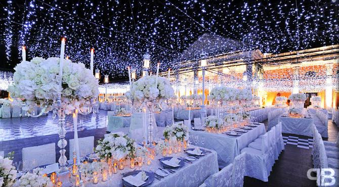Ideas To Decorate Your Wedding Venue Using Fairy Lights And Have A ...