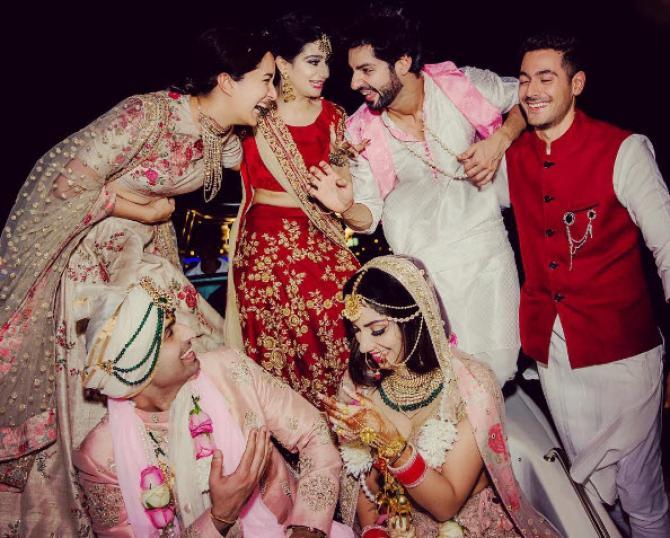 Karan Wahi S Sister Gets Married In A Grand Destination