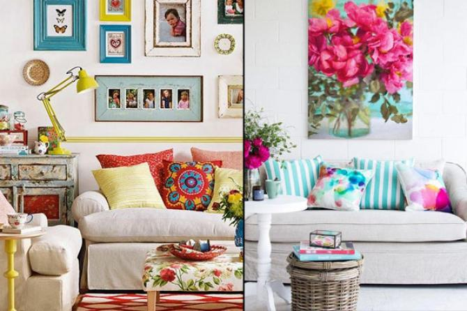 How to Decorate Your Living Room within a Budget ...