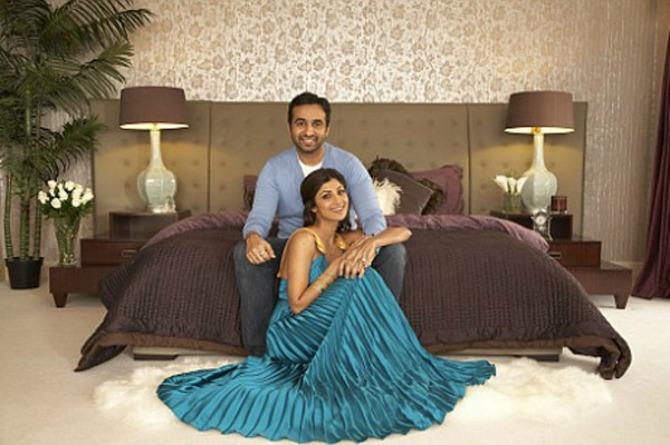 Shilpa Shetty & Raj Kundra Home