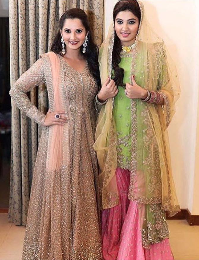 Sania Mirzas Sister Anam Wedding