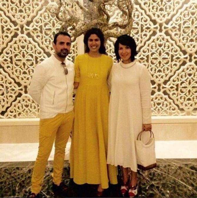 Shraddha Nigam And Mayank Anand Instagram