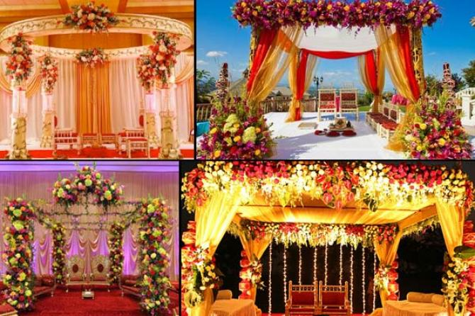 How to use flowers in your wedding decor Home decoration tips in marathi