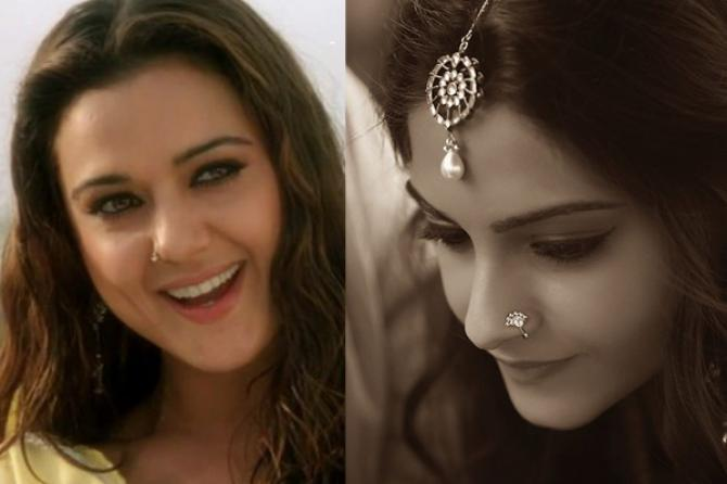 8 Different Nose Rings According To Face Shape That Can Add Bling To Your Bridal Look