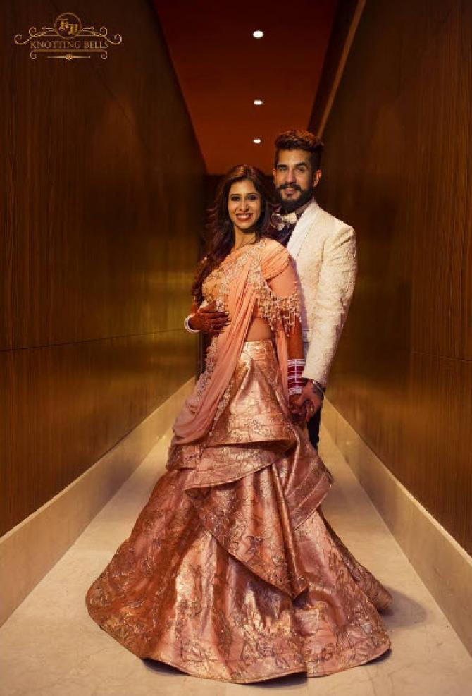 Another Celebrity Bride Wore The Same Outfit That Kishwer