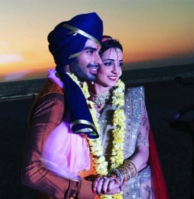 Mohit and Sanaya, also lovingly called Monaya by their fans, tied the knot  on January 25, 2016 in a beautiful destination wedding in Goa.