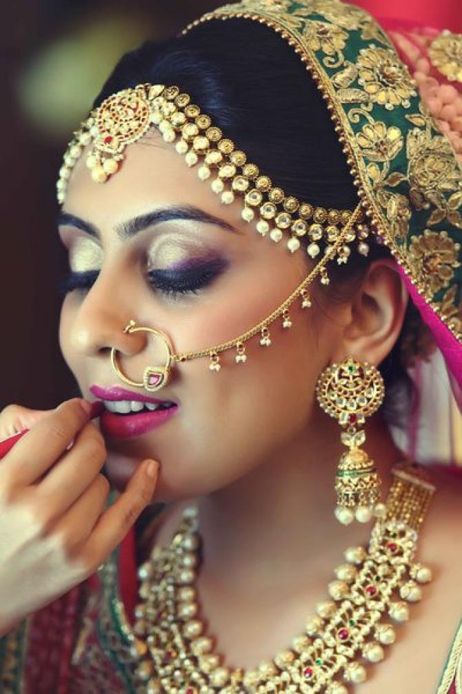 5 Matha Patti Designs That All BridesToBe Can Rock This Wedding