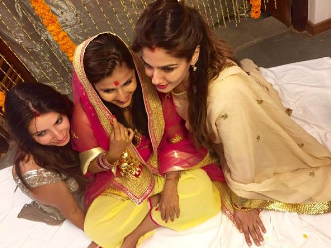 Raveena Tandon daugher wedding