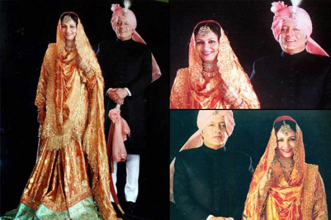 Sharmila Tagore and Mansoor Ali Khan