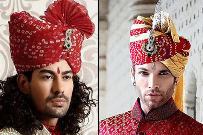 8 Fabulous Turban Or Pagdi Styles That Will Make The Groom Look ... 7c0c5e4a862