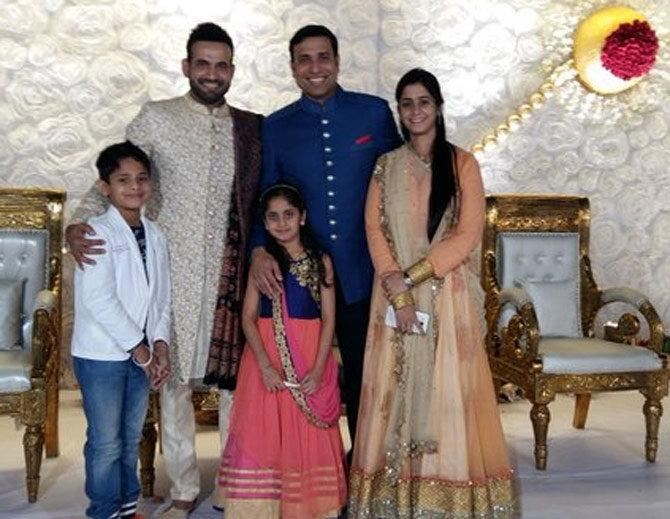 Yusuf Pathan And His Wife Exclusive Picture Of I...