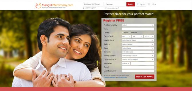 Dating and matrimonial sites