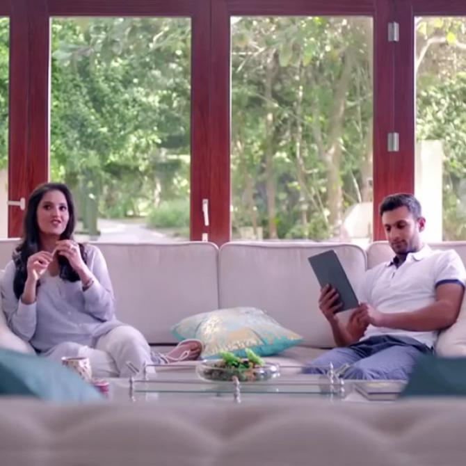 The Love Tale Of Tennis Star Sania Mirza And Pakistani Cricketer Shoaib Malik