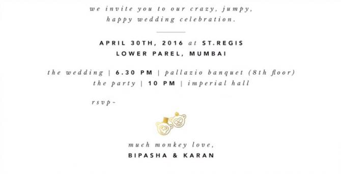 14 Unique And Gorgeous Celebrity Wedding Invites For The Couples Who