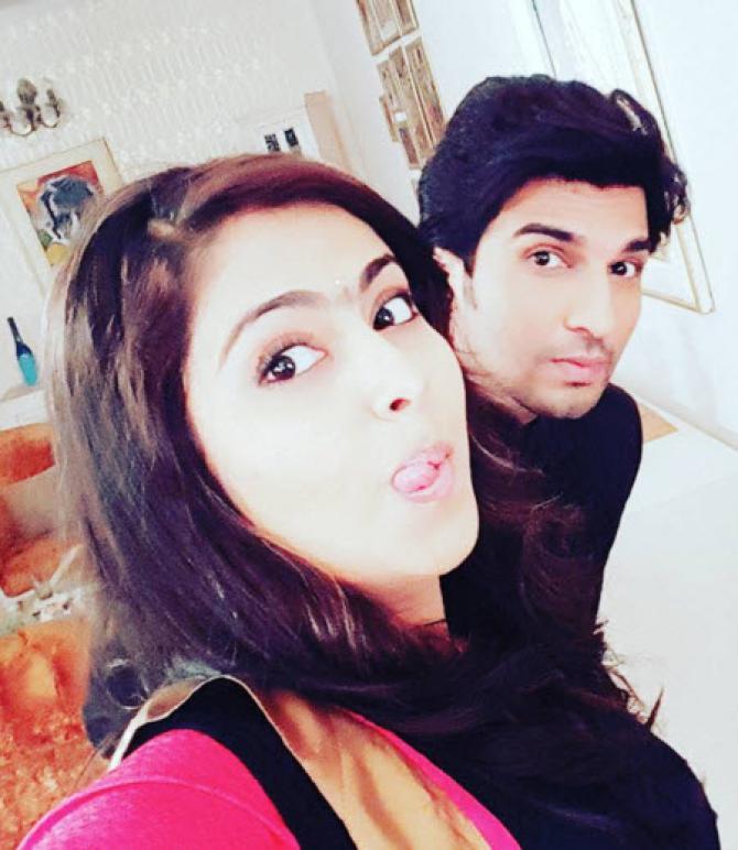 manish raisinghani wife photos