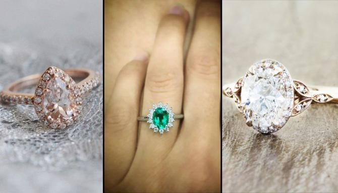 Tricks To Pick The Right Engagement Ring That Would Flatter Your Fingers Emerald Tear Drop Oval