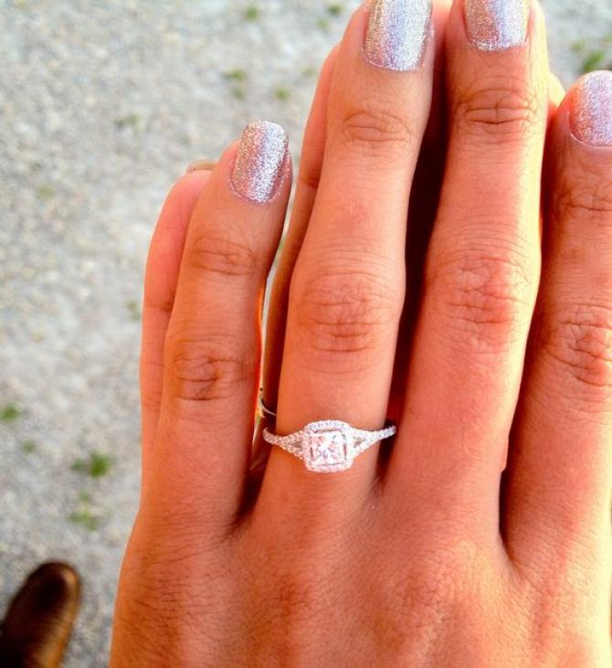 choosing wedding finger en how it chosen was blog rings the ring