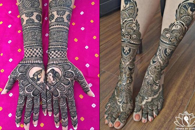 Mehndi Designs Feet N : Best bridal mehendi design combos for your hands and feet to