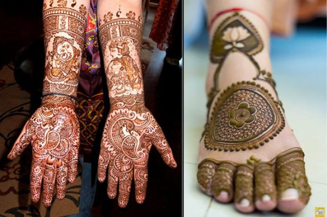 Bridal Mehndi Hands And Feet : Best bridal mehendi design combos for your hands and feet to