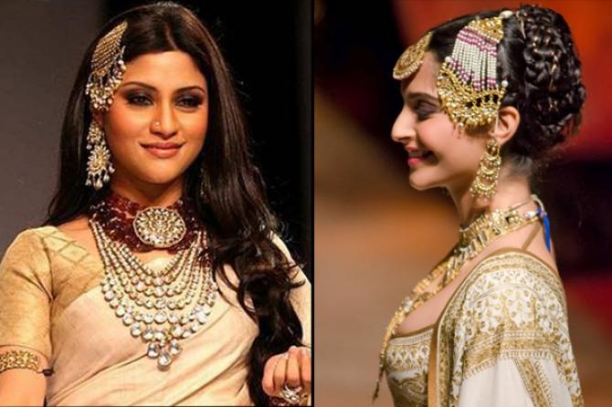Mehndi Hairstyles With Paranda : 4 easy steps to look like an ethereal muslim bride