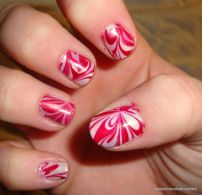 Amazing nail art hacks that every girl would thank us for water marble nails prinsesfo Images