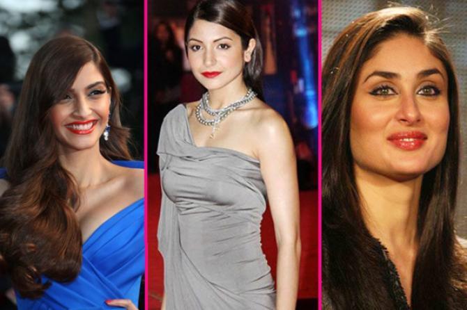 Sonam Kapoor, Anushka Sharma and Kareena Kapoor
