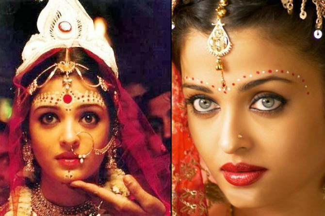Styles And Shapes Of Bindis