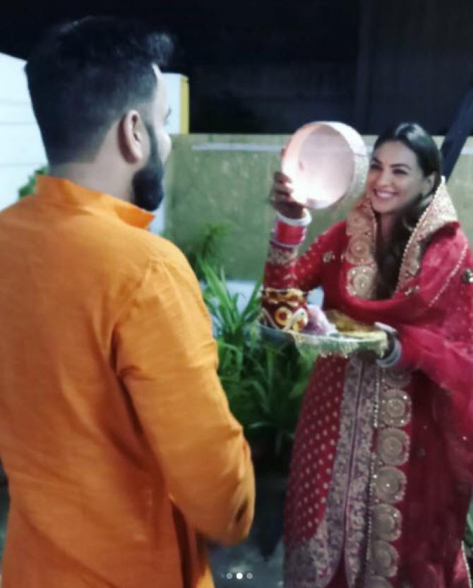 Priya Bathija Karva Chauth
