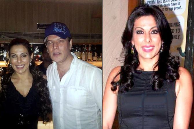 Pooja Bedi and Aditya Pancholi