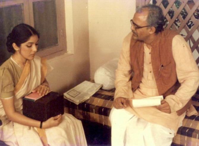Neena Gupta and Alok Nath
