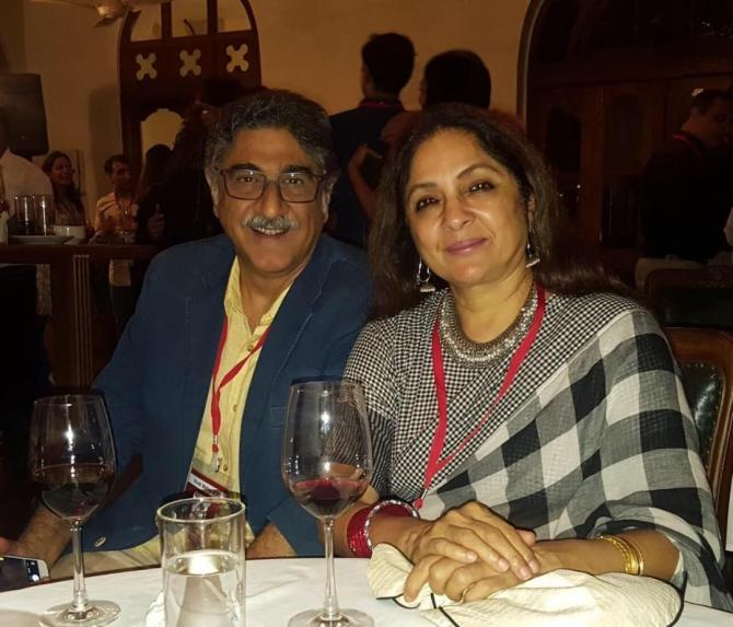 Neena Gupta and Vivek Mishra