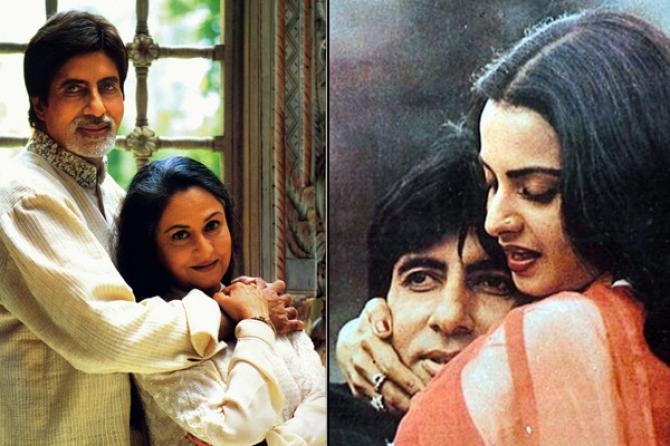 Perselingkuhan artis bollywood Amitabh Bachchan