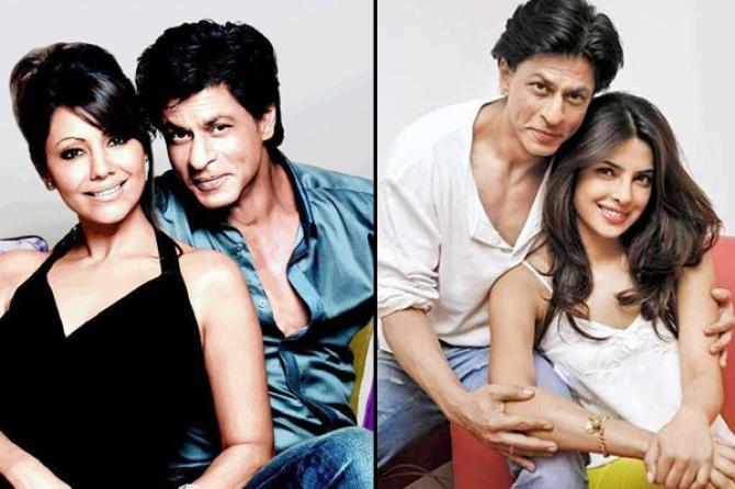 Perselingkuhan artis bollywood Shahrukh Khan.