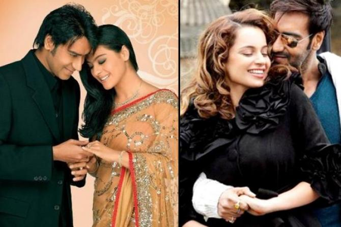 Perselingkuhan artis bollywood Ajay Devgan