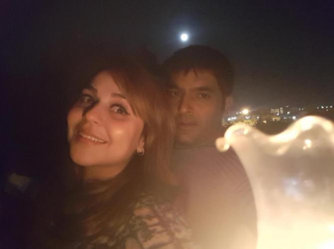 Kapil Sharma and Ginni Chatrath