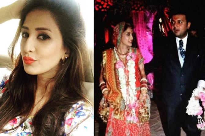 Popular indian tv actresses who got married a second time chahatt khanna husband voltagebd Images