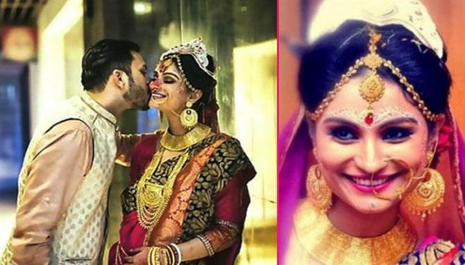 Popular indian tv actresses who got married a second time dimpy ganguly husband and rohit roy voltagebd Images