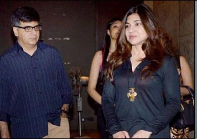 Alka Yagnik and Neeraj Kapoor