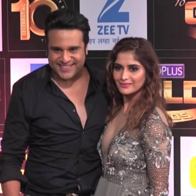 Krushna Abhishek and Aarti Singh