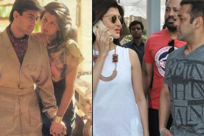 Sangeeta Bijlani and Salman Khan