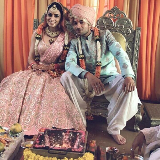 Smriti Khanna and Gautam Gupta