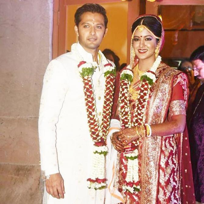 Image result for Vatsal Sheth with wife