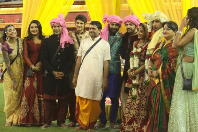 Vikrant Singh and Monalisa