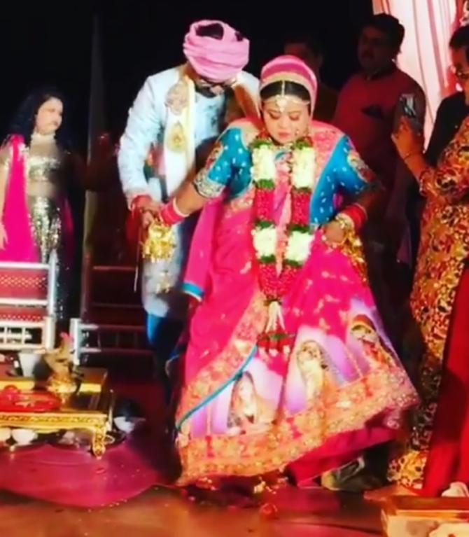 Bharti and Haarsh Wedding